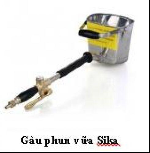 Gàu phun vữa Sika