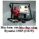 Máy bơm cứu hỏa chạy xăng Hyundai 15HP (11KW)