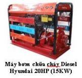 Máy bơm chữa cháy Diesel Hyundai 20HP (15KW)