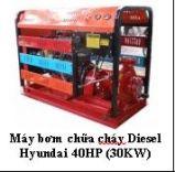 Máy bơm chữa cháy Diesel Hyundai 40HP (30KW)