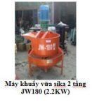 Máy khuấy vữa sika 2 tầng JW180 (2.2KW)