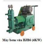 Máy bơm vữa HJB6 (4KW)