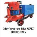 Máy bơm vữa Sika MPE7 (10HP) 220V