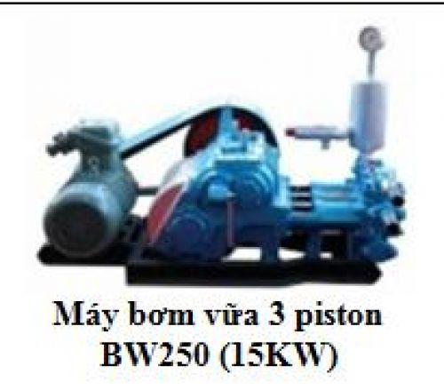 Máy bơm vữa 3 piston BW250 (15KW)