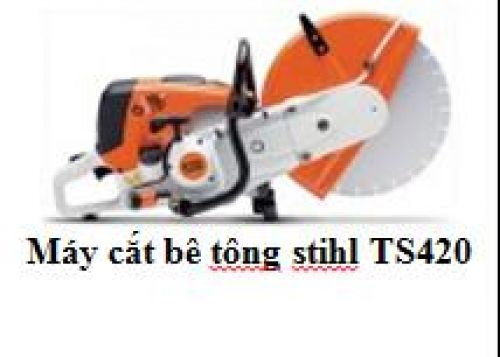 Máy cắt bê tông stihl TS420