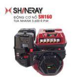 Động cơ nổ 5.5HP Shineray SN160 (đỏ)