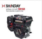 Động cơ nổ 5.5HP Shineray SN160 (đen)