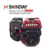 Động cơ nổ 6.5HP Shineray SN200 (đỏ)
