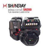 Động cơ nổ 6.5HP Shineray SN200 (đen)