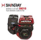 Động cơ nổ 7.5HP Shineray SN210 (đỏ)