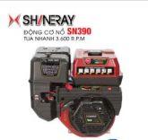 Động cơ nổ 13.0HP Shineray SN390 (đỏ)