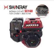 Động cơ nổ 5.5HP Shineray SC160 (đỏ)