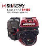 Động cơ nổ 6.5HP Shineray SC200 (đen)