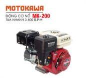 Động cơ nổ 6.5HP Motokawa MK-200 (trắng đỏ)