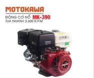 Động cơ nổ 13.0HP Motokawa MK-390 (trắng đỏ)