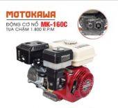 Động cơ nổ 5.5HP Motokawa MK-160C (trắng đỏ)