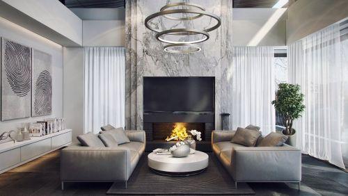Modern minimalistic decor 13