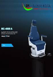 Ghế khám Tai Mũi họng MC-4000A