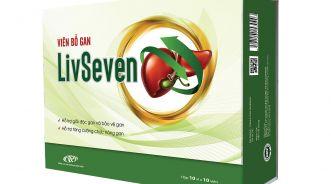 Viên bổ gan Livseven có tác dụng giải độc gan không?