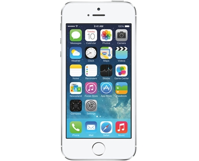 iPhone 5S Silver 16GB 95%