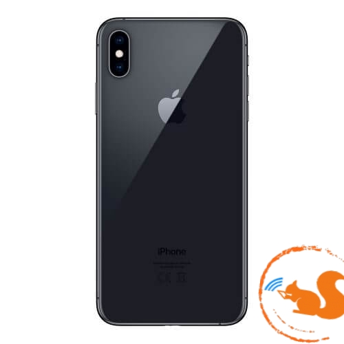 xuong-vo-iphone-xs-max-gray-xam-den