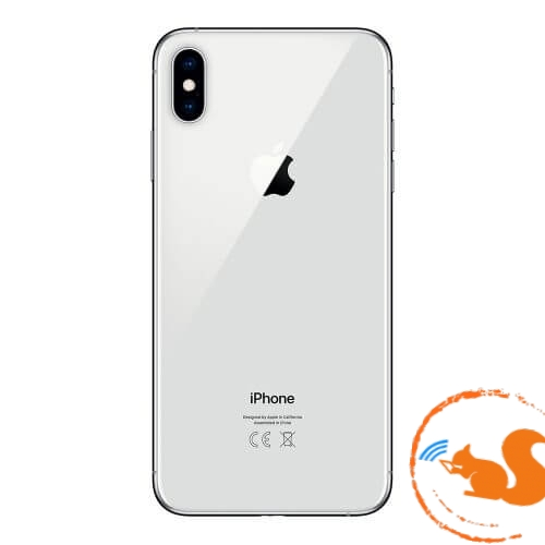 xuong-vo-iphone-xs-max-silver-trang