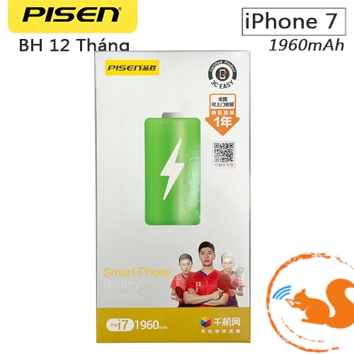 Thay Pin iPhone 7G - Pisen