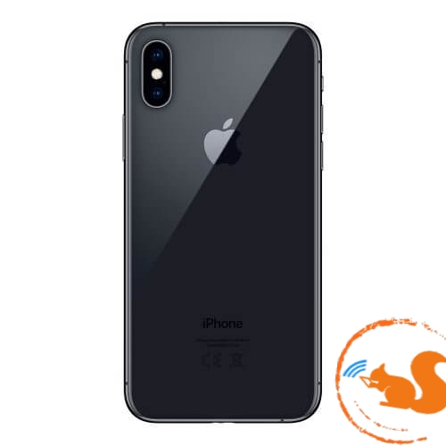 xuong-vo-iphone-xs-gray-xam-den