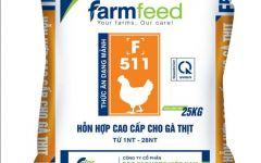 Thức ăn hỗn hợp cao cấp cho gà thịt từ 1-28nt