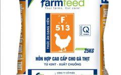 Thức ăn hỗn hợp cao cấp cho gà thịt từ 43nt- xuất