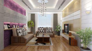 Trang trí nhà với Sofa gam màu vàng