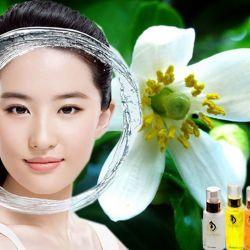 Dầu massage mặt Hoa Bưởi