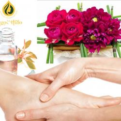 Dầu Massage chân hương ngàn hoa