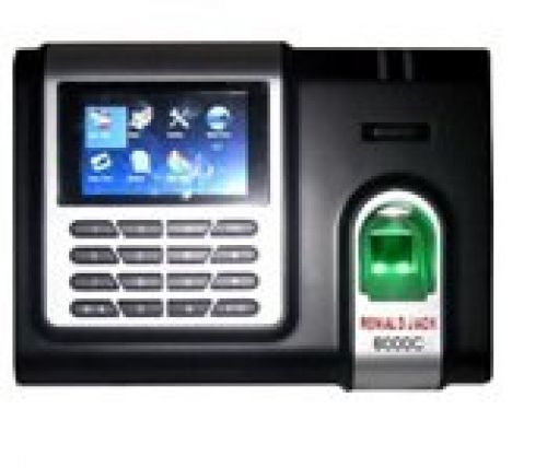 Máy chấm công vân tay + thẻ cảm ứng RONALD JACK 8000C
