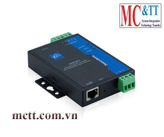 Bộ chuyển đổi 1 cổng RS-232/485/422 sang Ethernet 3Onedata NP301