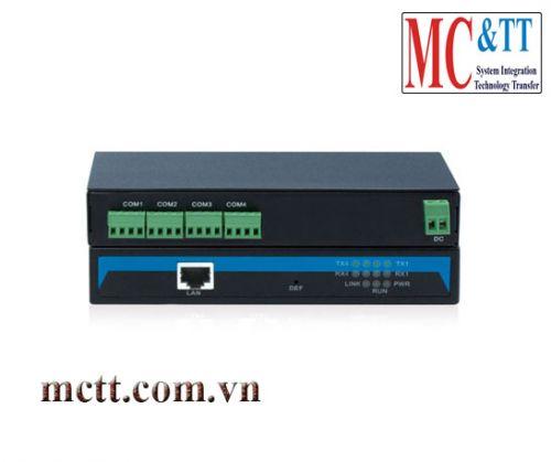 Bộ chuyển đổi 4 cổng RS-485/422 sang Ethernet 3Onedata NP304T-4DI(RS-485)