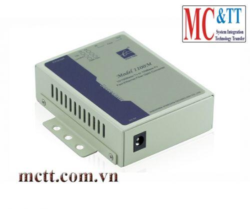 Bộ chuyển đổi Ethernet sang quang Single Mode 40KM Single Fiber 3Onedata Model1100MSS/40