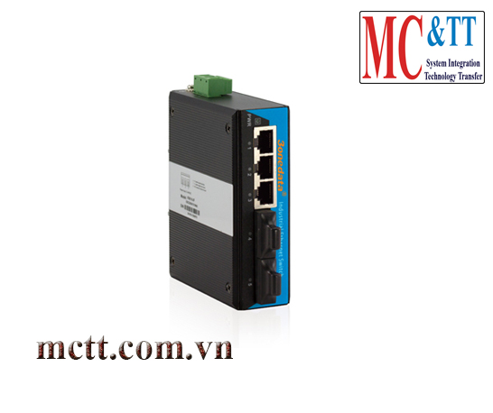 Switch công nghiệp 3 cổng Ethernet + 2 cổng quang 3Onedata IES215-2F