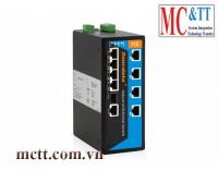 Switch công nghiệp 2 cổng PoE Ethernet + 4 cổng Ethernet + 1 cổng Combo Gigabit SFP 3Onedata IPS319-1GC-4POE