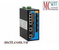 Switch công nghiệp quản lý 4 cổng PoE Ethernet + 4 cổng quang + 2 cổng combo SFP 3Onedata IPS7110-2GC-4F-4POE