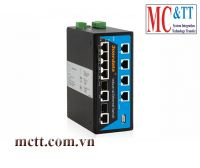 Switch công nghiệp 8 cổng PoE Ethernet + 2 cổng Combo SFP 3Onedata IPS7110-2GC-8POE