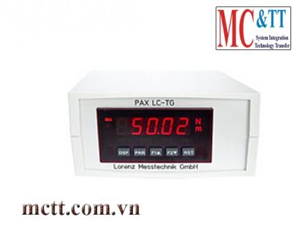 Bộ điều khiển hiển thị dữ liệu lực Active Sensors Sensor 220 VAC Lorenz PAX-D000B-LC-TG