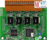 Board mở rộng 4 cổng RS-485 CIP DAS XW511i