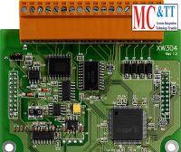 Board mở rộng 4 kênh A/D, 2 kênh D/A, 3 kênh D/O, 3 kênh D/I ICP DAS XW310