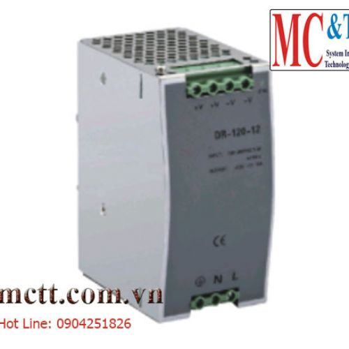 Bộ đổi nguồn 220VAC/24VDC 5A công suất 120W Winston DR-120-24
