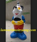 Thùng rác con Chuột Micky