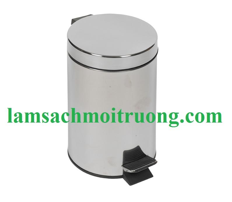 thùng rác inox sơn tĩnh điện nhập khẩu giá rẻ