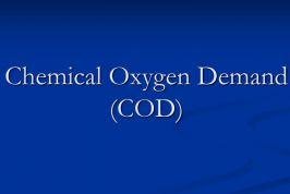 Nhu cầu Oxy hóa học COD