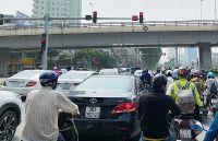 Lưu lượng giao thông tác động lớn đến chất lượng không khí Hà Nội