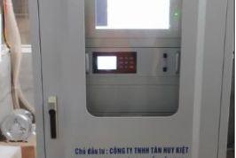 Cung cấp lắp đặt Hệ thống QTTĐ khí thải cho Công ty TNHH Tân Huy Kiệt
